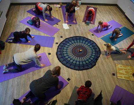 Family Wellbeing Day Including Yoga
