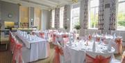 Gafrden Room wedding breakfast - Tullie House Museum and Art Gallery