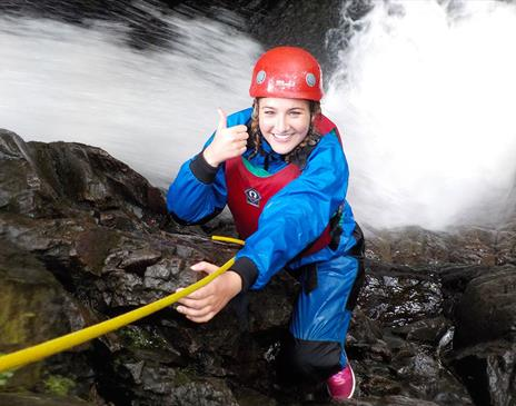 Ghyll Scrambing with West Lakes Adventure