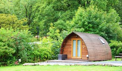 Glamping at Waterfoot Park