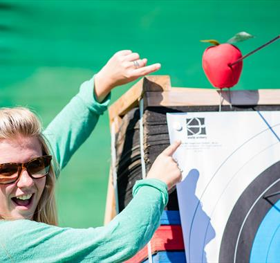Archery & Axe Throwing with Graythwaite Adventure