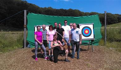 Archery and Axe Throwing with Graythwaite Adventure