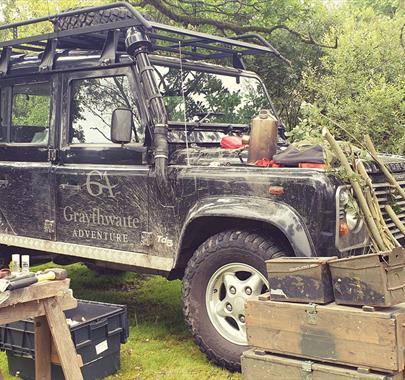 Bushcraft with Graythwaite Adventure