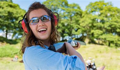 Clay Pigeon Shooting with Graythwaite Adventure