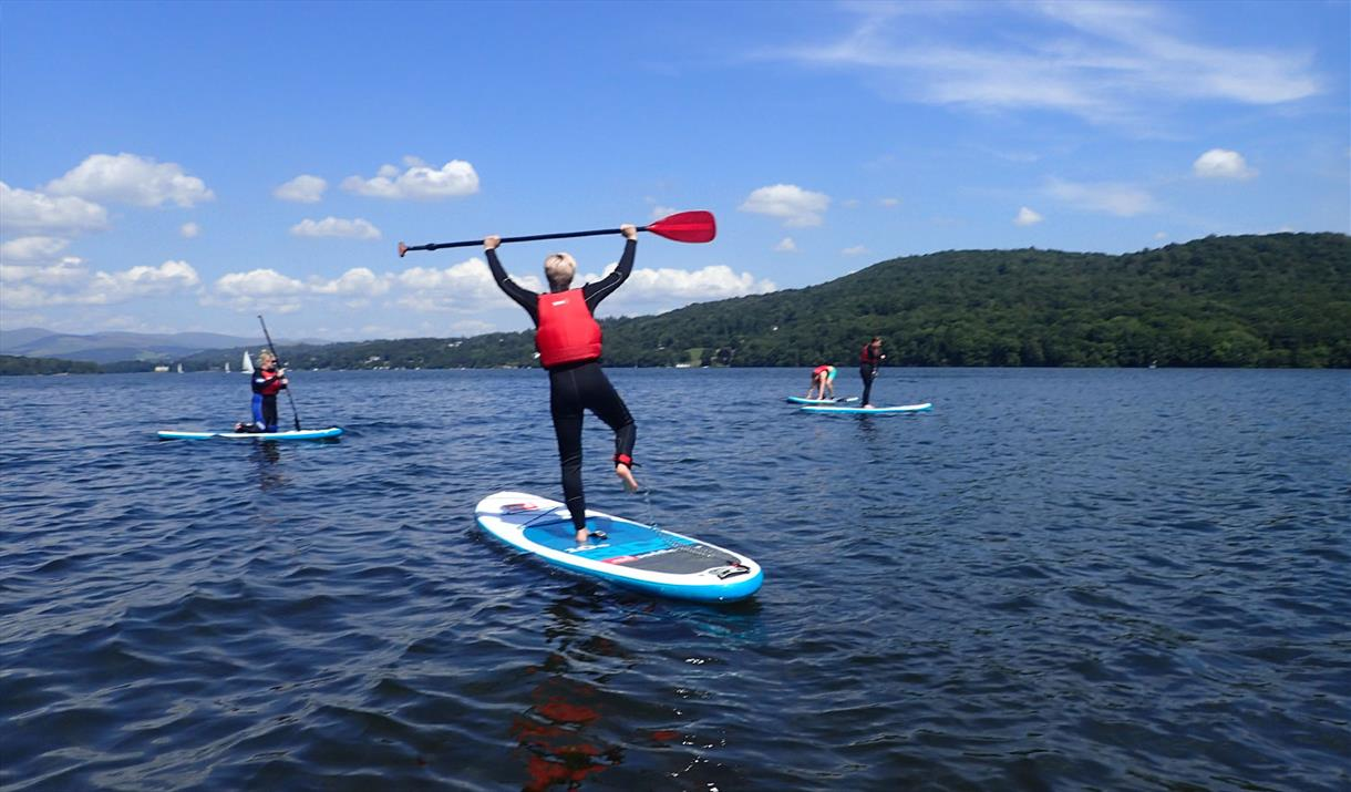 Stand Up Paddleboarding with Grathwaite Adventure