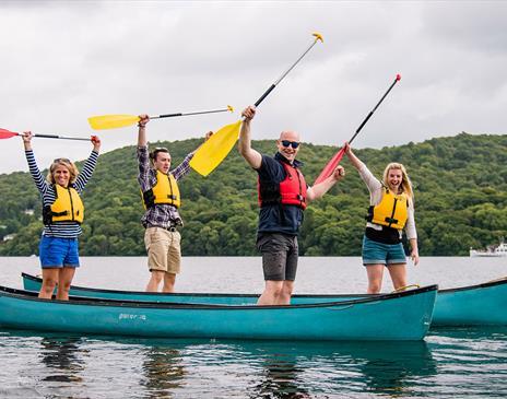 Water Based Activities with Graythwaite Adventure