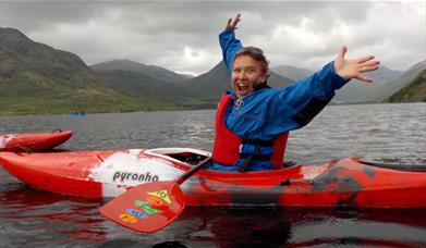 Kayaking with West Lakes Adventure