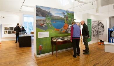Keswick Museum Cabinet of Curiosities