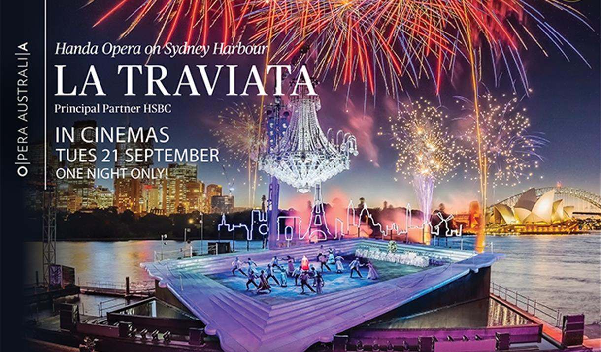 La Traviata - Handa Opera on Sydney Harbou
