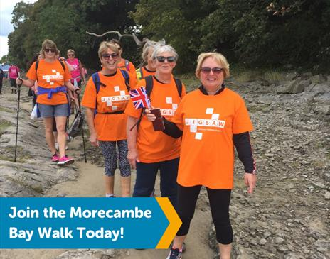 Morecambe Bay Walk for Eden Valley Hospice and Jigsaw