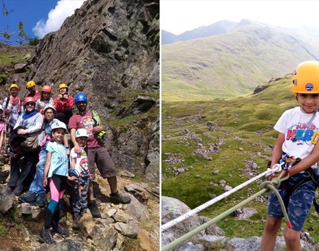 Family adventure day with The Lakes Mountaineer