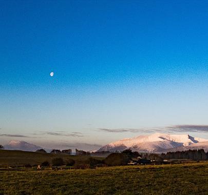 Moon over Blencathra - Cairnstones