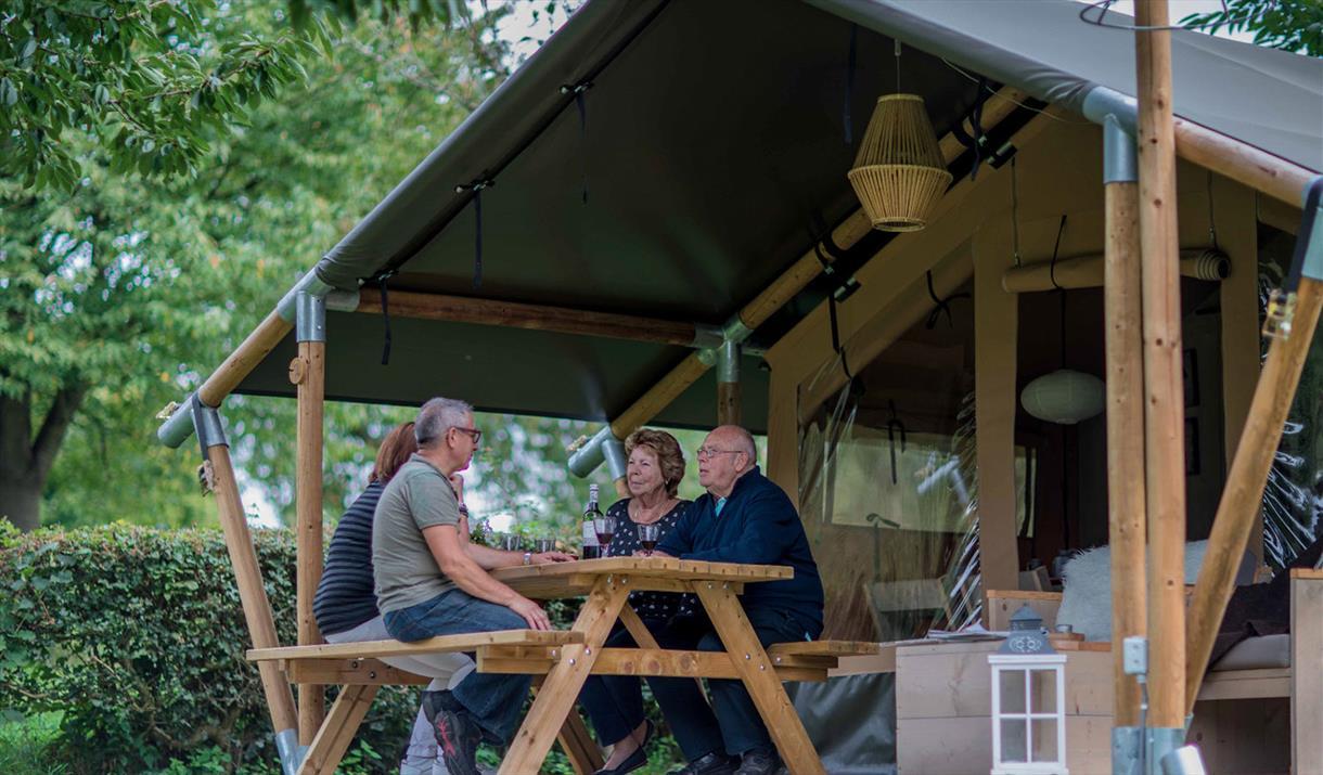 Safari Tents at Hall More Holiday Park