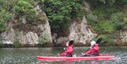 Kayaking with Adventure Vertical