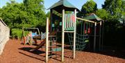 Adventure Playground at Levens Hall, Gardens & Kitchen