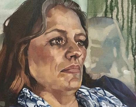 Expressive Portraits in Oil Paint at Cowshed Creative