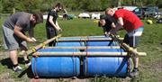 Raft Building - Activities in Lakeland