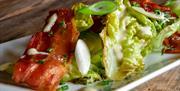Enjoy light, crisp salads