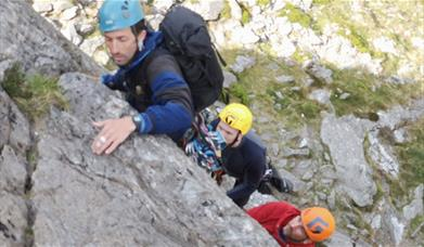 Rock Climbers - Advancing your skills with The Lakes Mountaineer