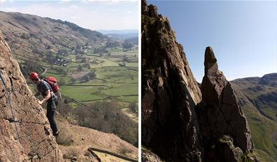 Rock Climbing - guided experience with The Lakes Mountaineer