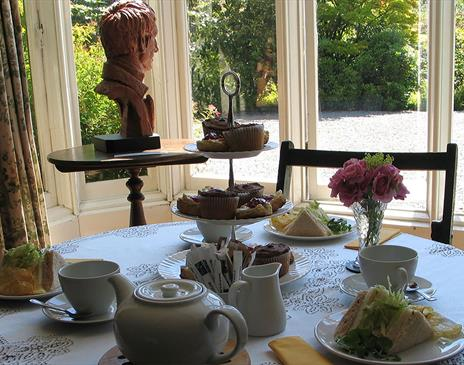 The Saddlery Tearoom at Rydal Mount and Gardens