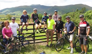 Guided Family Bike Skills - Saddle Skedaddle