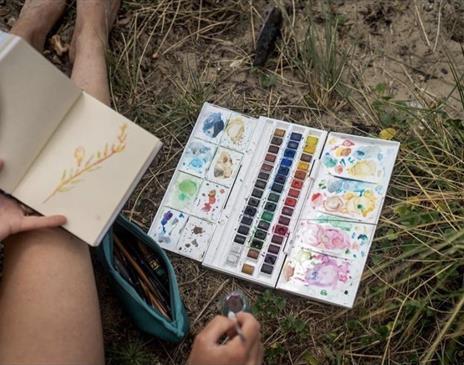 Kendal Mountain Festival- Art Adventure Workshop