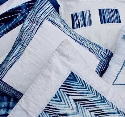 Indigo Dye & Shibori Techniques at Cowshed Creative