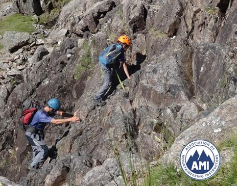 Scrambling with The Lakes Mountaineer