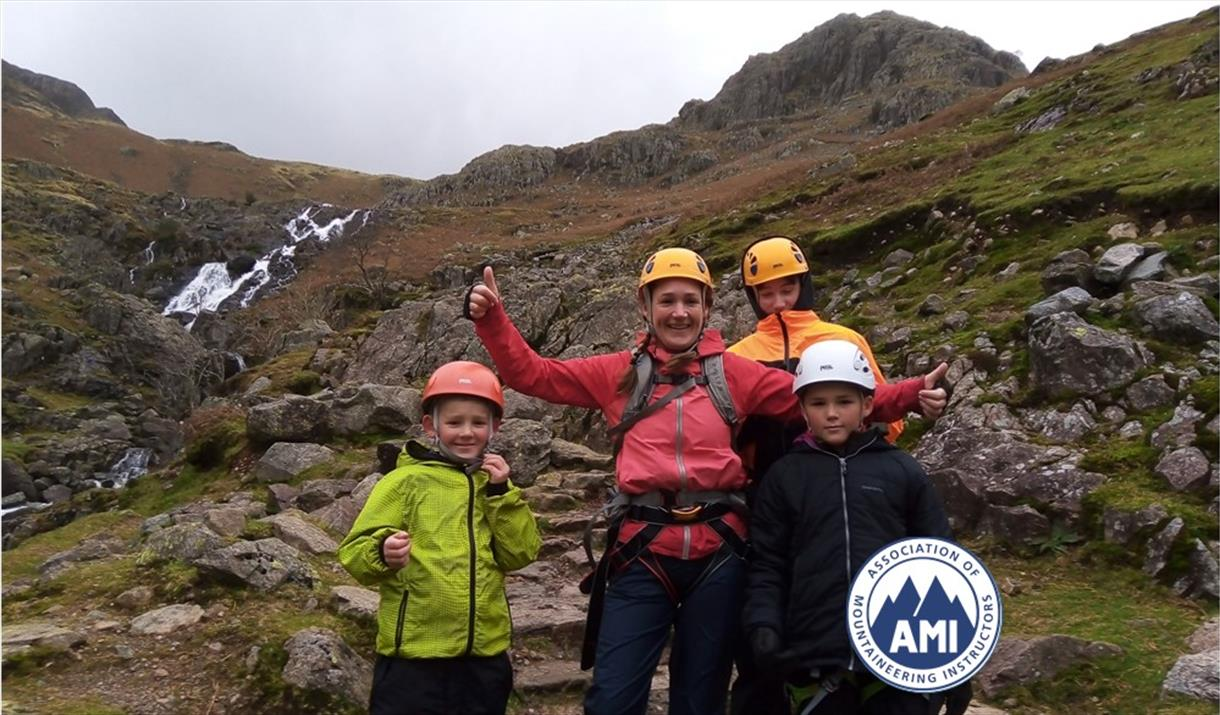 Mega-Mountains: Parent and Child Scrambling day with The Lakes Mountaineer