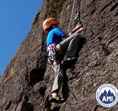 Rock Climbing with The Lakes Mountaineer