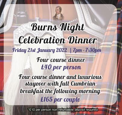 Burns Night Celebration Dinner