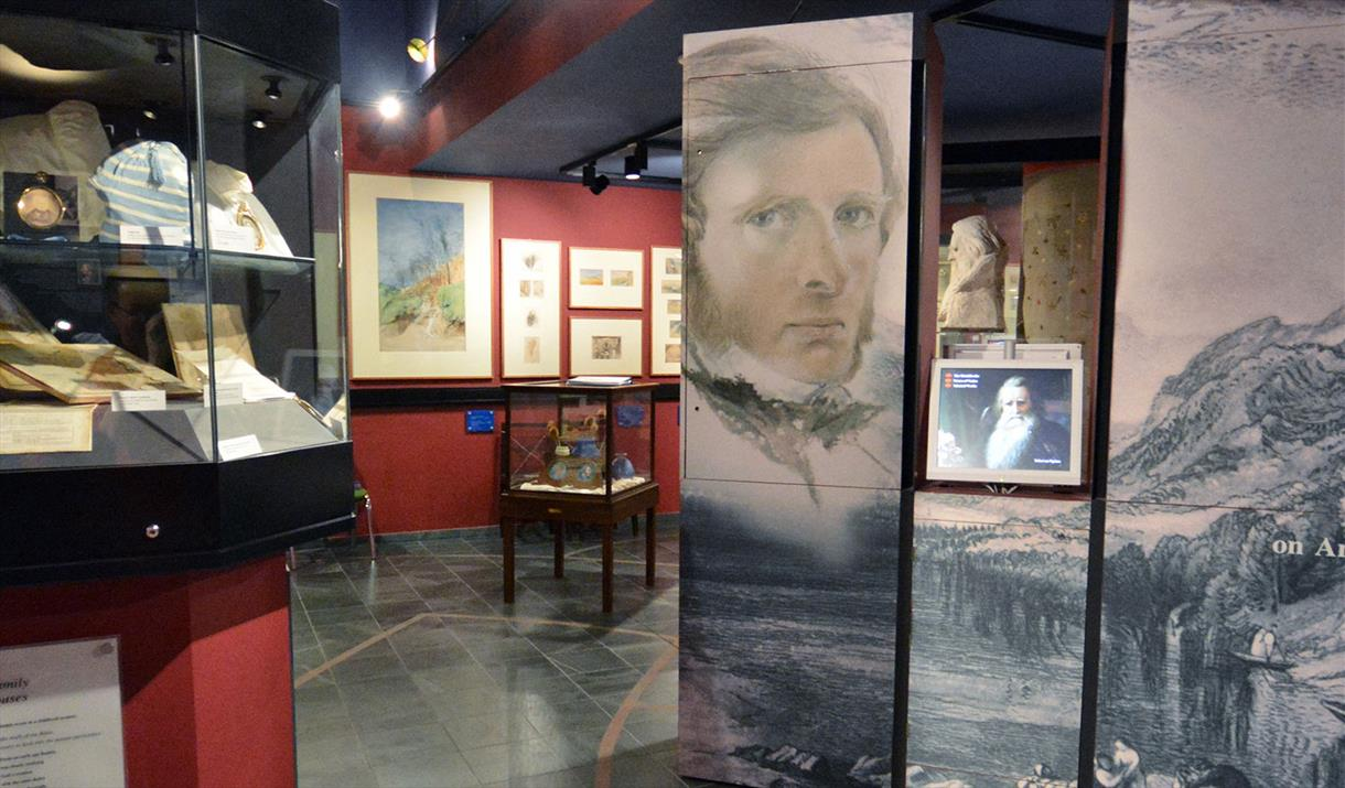 The Ruskin Gallery at The Ruskin Museum
