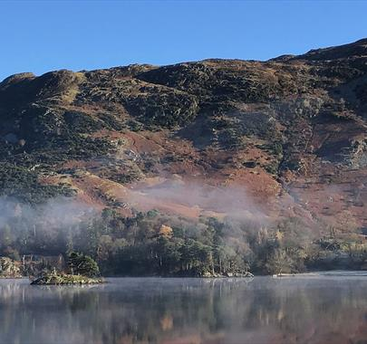 The view from Glenridding House, Ullswater