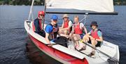 Have a go at sailing at Ullswater Yacht Club with Ullswater Sailing School