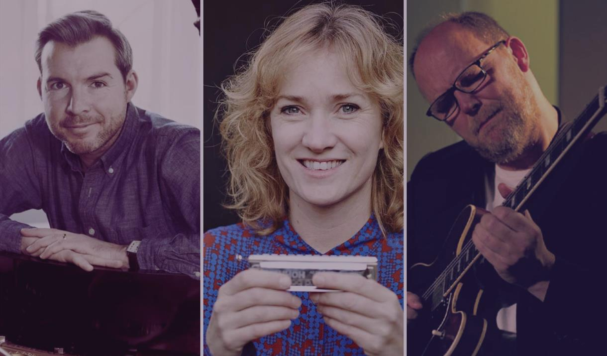 Gwilym Simcock, Mike Walker and Hermine Deurloo at Zeffirellis