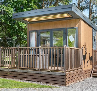 Hive Cabins at Waterfoot Park