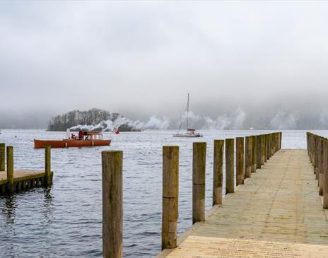 Heritage boat cruise on Windermere