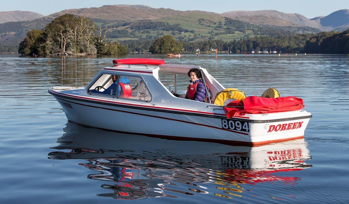 Windermere Lake Cruises, Self Drive Boats