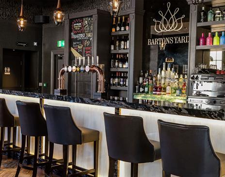 Barton's Yard Cafe Bar at The Halston Aparthotel
