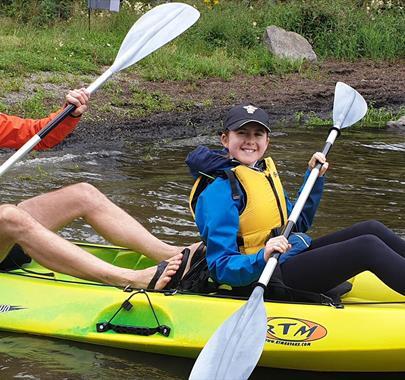 Instructed kayaking with Graythwaite Adventure