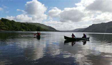 Canoe Training Ullswater with The Expedition Club