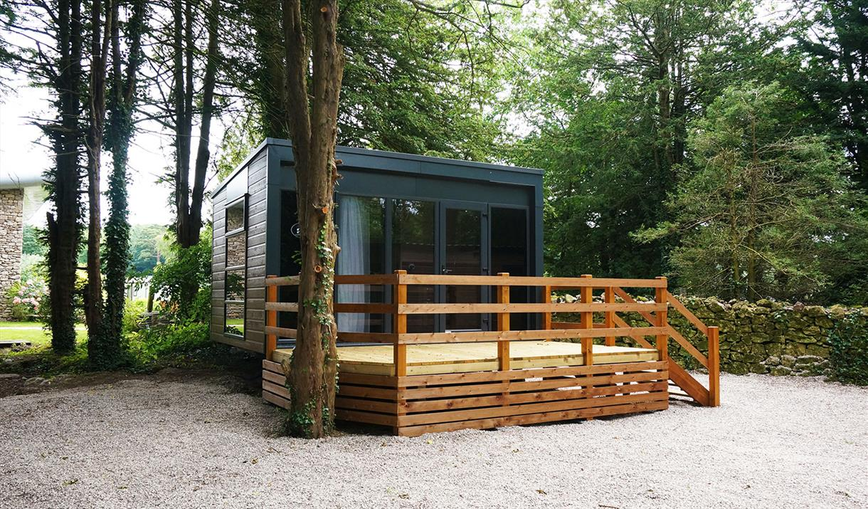 Super Glamping Pods at Fell End Holiday Park