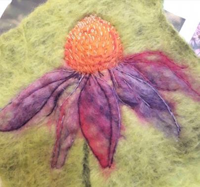 Felt Art & Hand stitch ~ with Marieke Tomlin