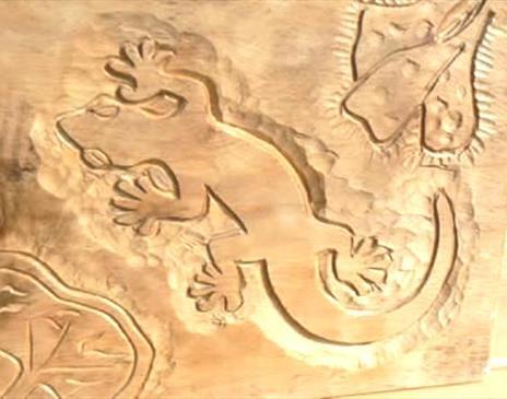 Relief Carving in Hardwood