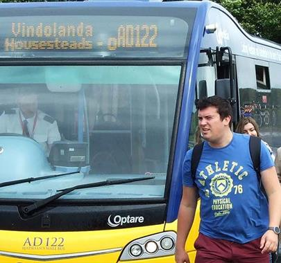 Hadrian's Wall bus- route AD122