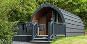 Camping Pods at Holgates Holiday Park, Silverdale