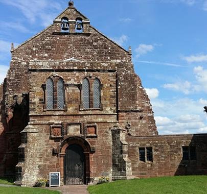 Holme Cultram Abbey, Abbeytown