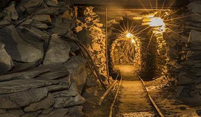 Mine Tour at Honister Slate Mine