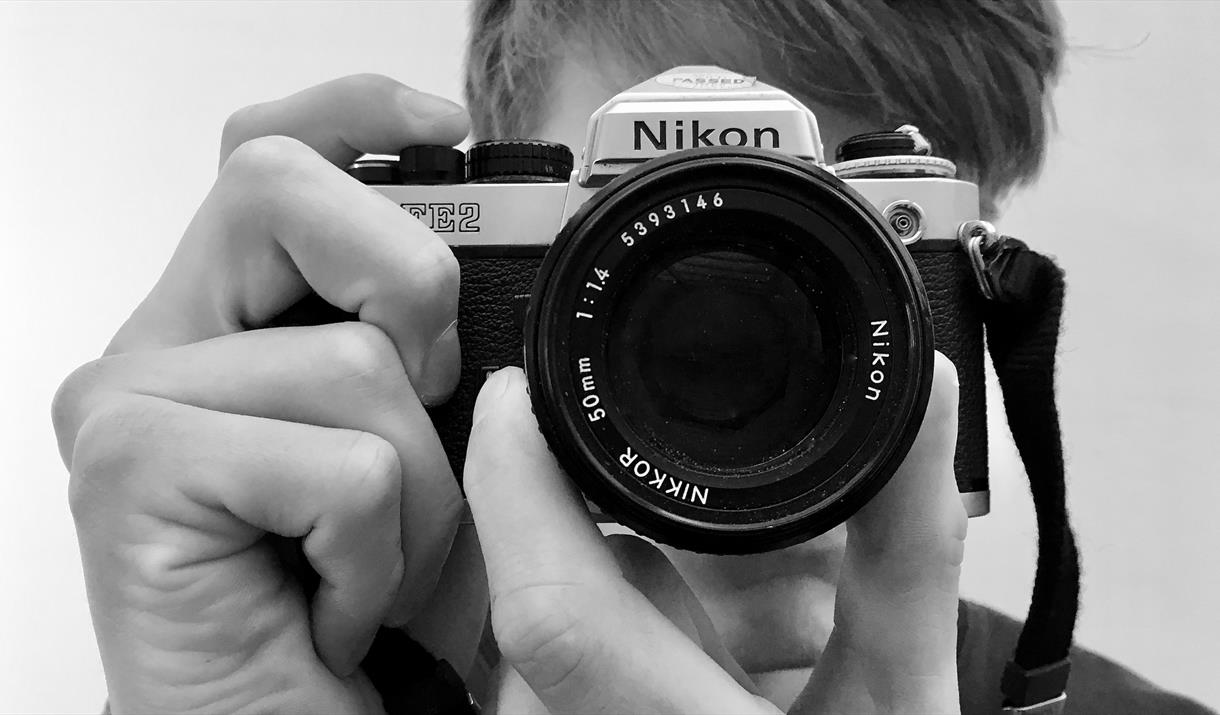 Exploring with your camera at Cowshed Creative